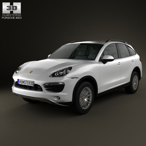 Porsche Cayenne Hybrid 2011 3d model from humster3d.com. Price: $75