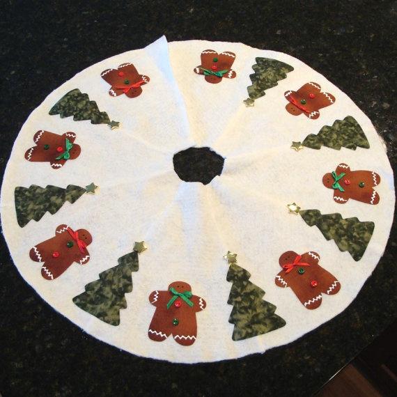 Gingerbread Man Tree Skirt 69