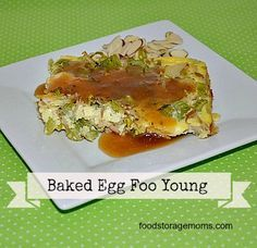 Healthy Baked Egg Foo Young on Food Storage Moms at http://www.foodstoragemoms.com/healthy-baked-egg-foo-young/