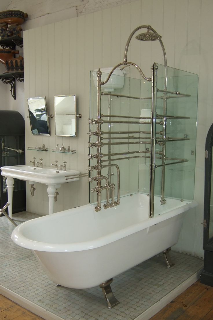 Canopy Bath Glass Screens / | The Water Monopoly