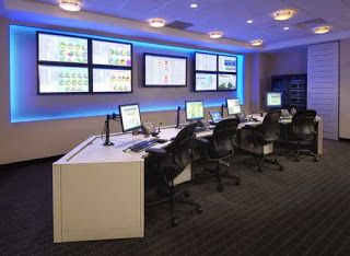 (NOC) Network Operations Center Office: NOC Room Furniture Fit For Command  Center And Part 92