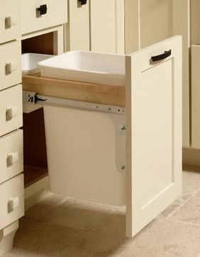 Base Wastebasket Cabinet | CliqStudios.com - contemporary - kitchen cabinets - minneapolis - CliqStudios Cabinets