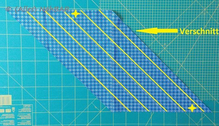 Tutorial: Schrägband selber herstellen
