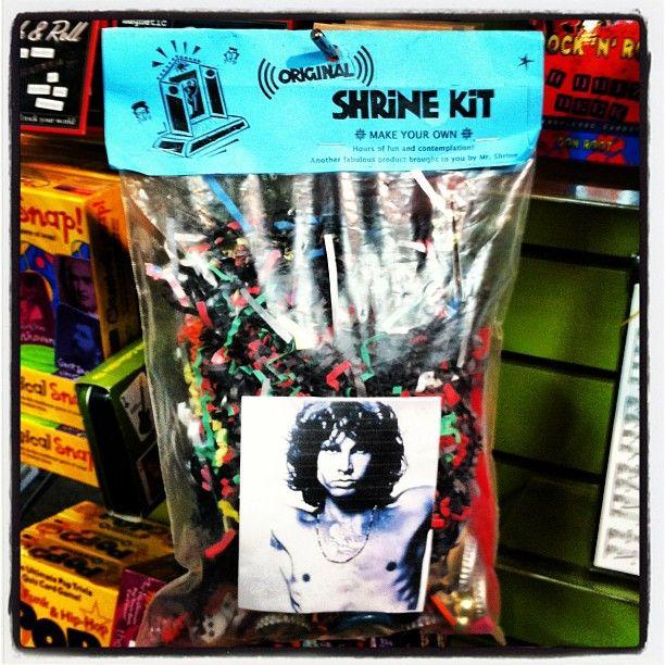 Make your own shrine kit. #music #sxsw #thedoors #jimmorrison #voodoo #lofi