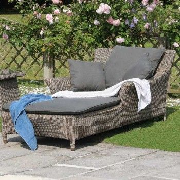 Valentine Single Sunbed With Waterproof Cushions
