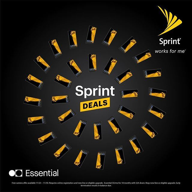 Lease an Essential phone at Sprint & get the Essential 360