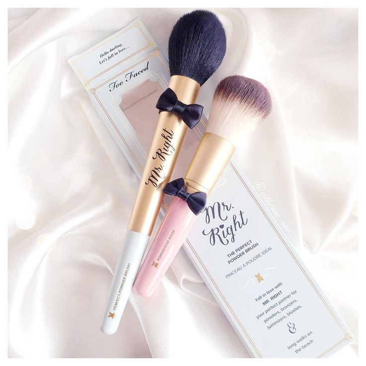 Too Faced Mr Right Brush & Powder Pouf Brush lovecatherine.co.uk Instagram catherine.mw xo
