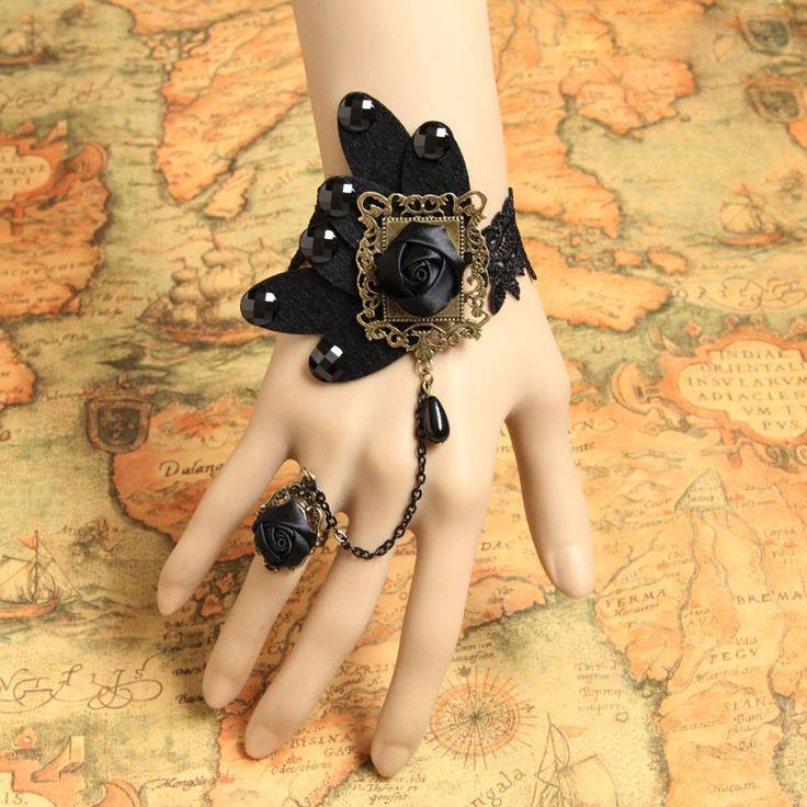 Купить товарГотический старинные кружева женский браслет WS 140 ручной запястье аксессуары в категории Цепи и браслетына AliExpress. Handmade fashion  lace  choker necklace JL-210 for womenUS $ 3.10/pieceFashion  lace bracelet WS-267 handmade jewelry wr