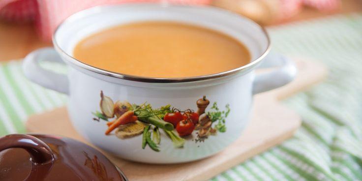 Σούπα με πορτοκάλι και καρότο