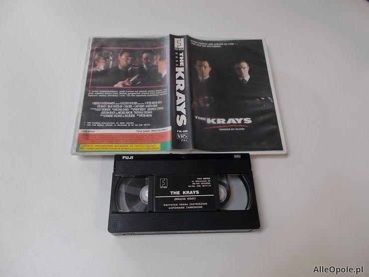 Bracia Kray - The Krays - VHS Kaseta Video - Opole 1662 (Opole)