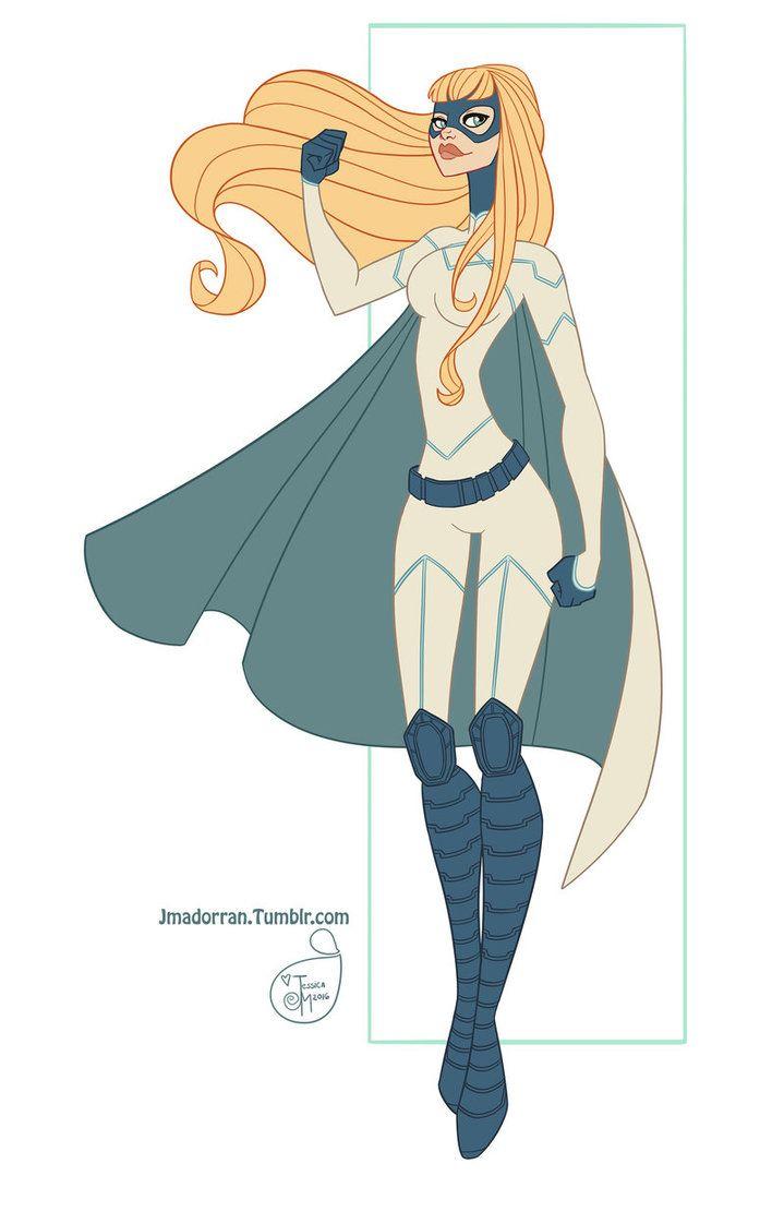 Commission - Superhero by Jessica Madorran aka MeoMai on DeviantArt