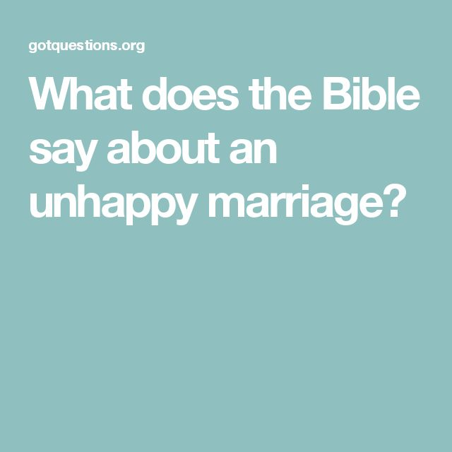 unhappy marriage To fight for your marriage, here is an outline of how to make very difficult decisions as fair and level-headed as possible to save an unhappy marriage.
