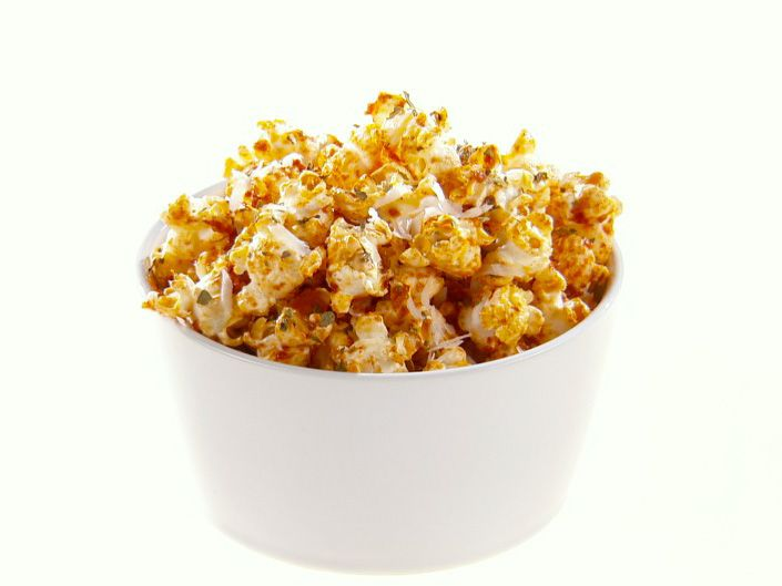 Get this all-star, easy-to-follow Pizza Popcorn recipe from Giada De Laurentiis