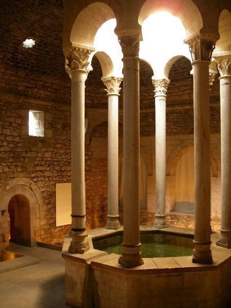 Roman Bath House in Girona