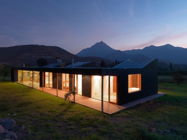 "Integrated in a breathtaking natural landscape in Ocoa, Chile, ""Casa La Campana"" comes from architects Alejandro Dumay Claro and Francisco Vergara Arthur  Read more: http://freshome.com/2010/05/21/beautiful-and-spacious-rustic-home-in-chile/#ixzz3CSbHKhFP"
