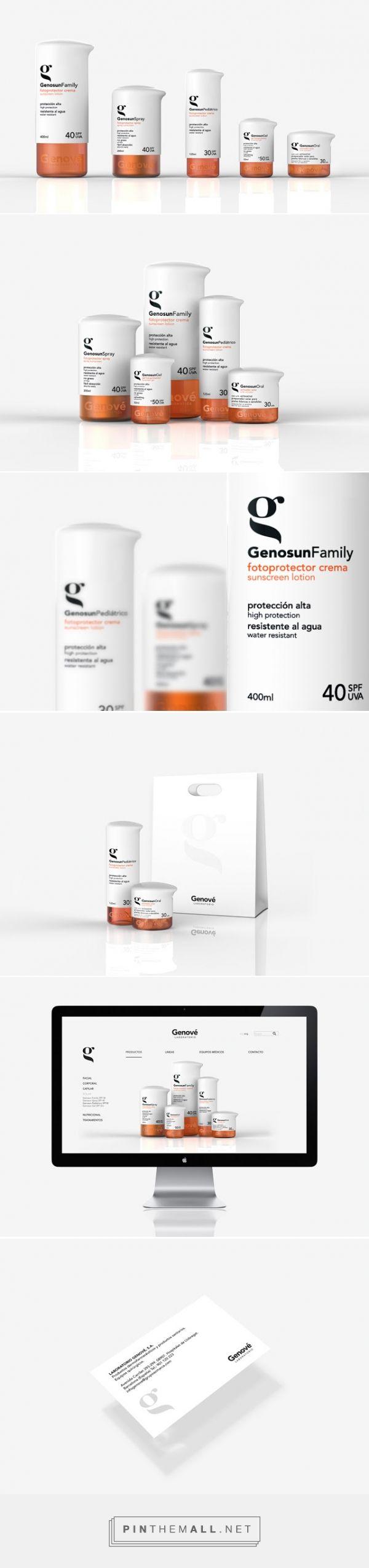 Genové #concept #packaging by Laia Fusté, Paula Sánchez, Laia Truque, & Miriam Vilaplana - http://www.packagingoftheworld.com/2015/02/genove-student-project.html