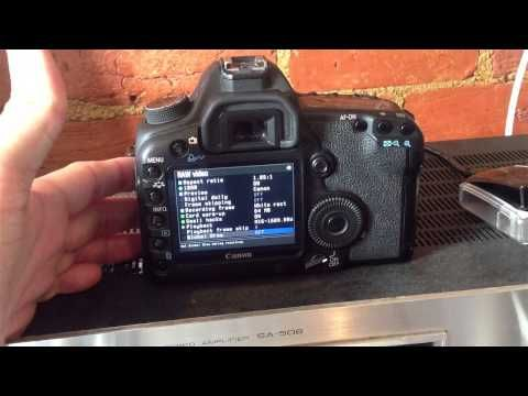 Canon 5d 2 Magic Lantern Raw video firmware. How to set up raw on the 5d mark 2 - ChrisCory - YouTube