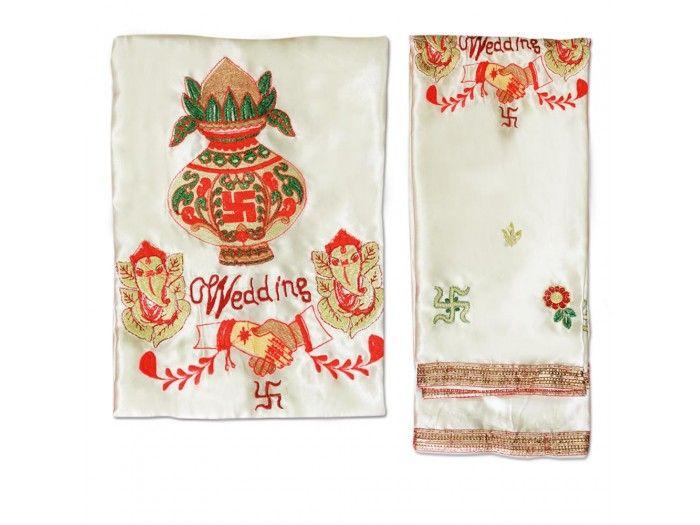 Wedding Kalash Handshake Antarpat, Buy Antarpat online from India.