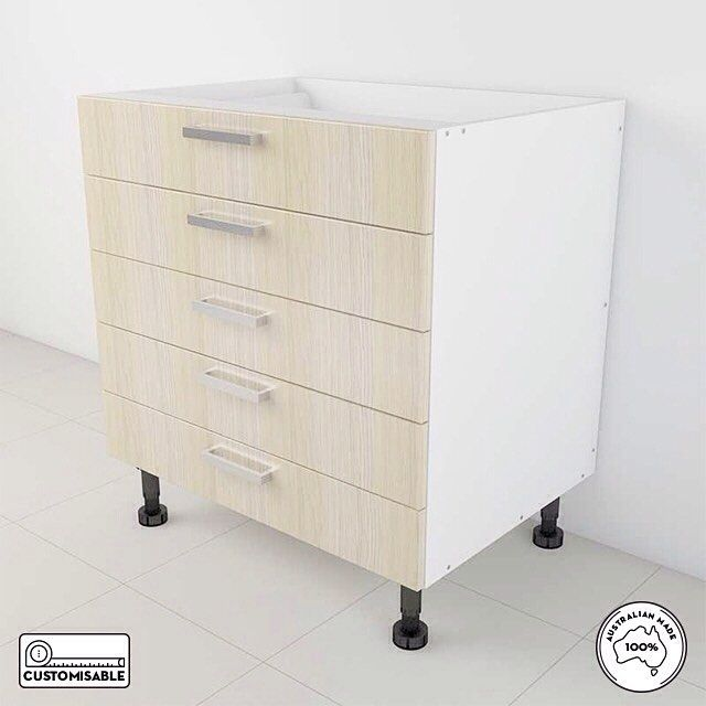 You can put many things in 3 drawers. But imagine all you can put in 5 drawers! If you like this cabinet go to www.joinerytrade.com and buy it from the nearest supplier.#stylish #website #styling #instagood #cabinetmaker #dream #style #australia #decoration #onlineshopping #cabinets #furniture #love #design #cabinet #interior #diy #kitchen #kitchendesign #home #flatpack #inspire #kitchens #joinerytrade #homesweethome #house #designer #interiordesign #create #shopping