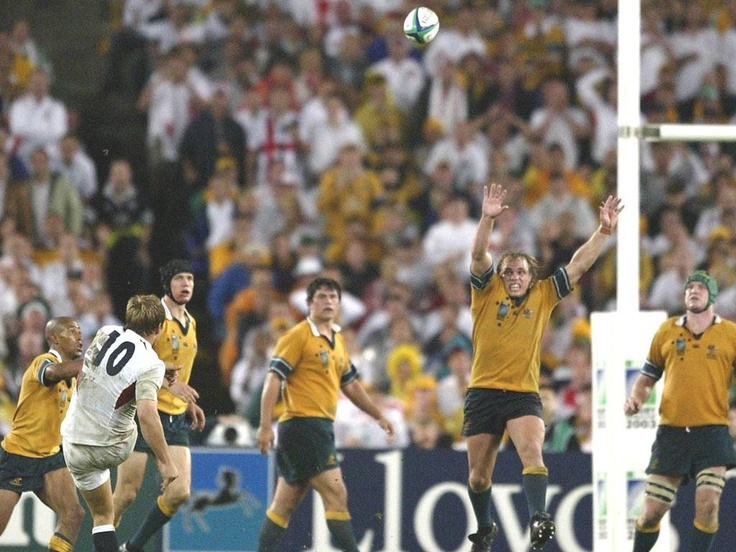 .....rugby player. Seriously, who else? Jonny Wilkinson will always be remembered as one of the most consistent kickers ever. His World Cup winning drop-goal still send shivers down my spine. He was so good that if there was a kick on the half way line you'd think he would score. And he did.