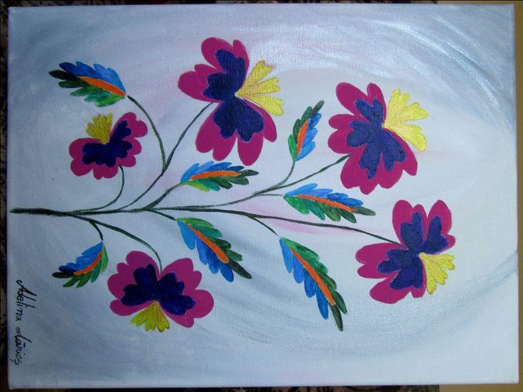 Tablou cu Flori – pictură modernă