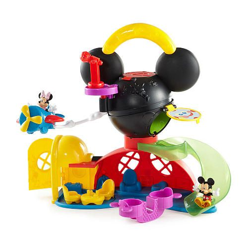 Mickey Mouse Toys : Fisher price disney mickey mouse fly n slide clubhouse