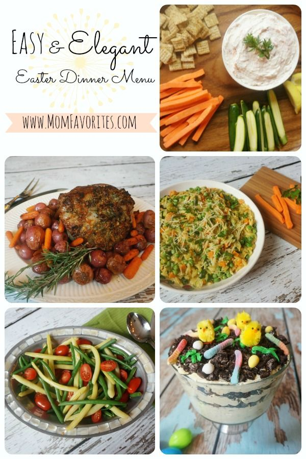 1000 ideas about easter dinner menu on pinterest easter for Easy easter lunch menu