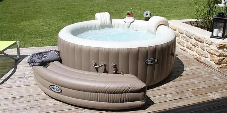 best 25 spa gonflable ideas on pinterest jacuzzi gonflable spa jacuzzi gonflable and spa. Black Bedroom Furniture Sets. Home Design Ideas