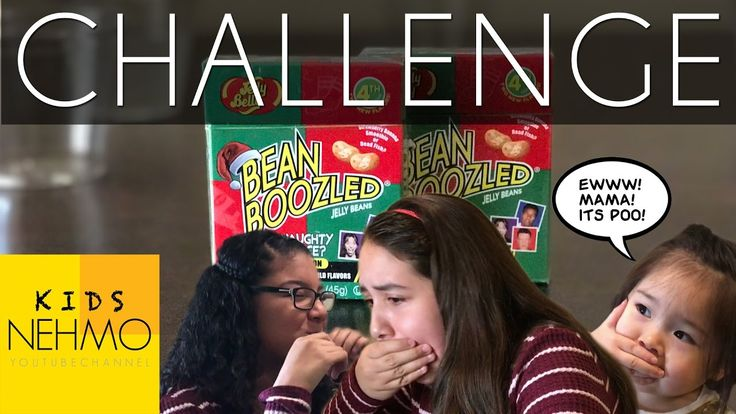 Bean Boozled Challenge (Kids try for first time)