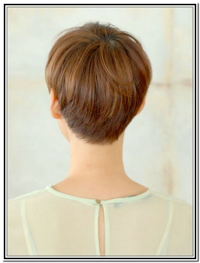 Back Views Of Short Haircuts For Women Pixie Haircuts