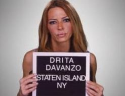 VH1 Mob Wive's Drita Davanzo In New Hiphop Music Video