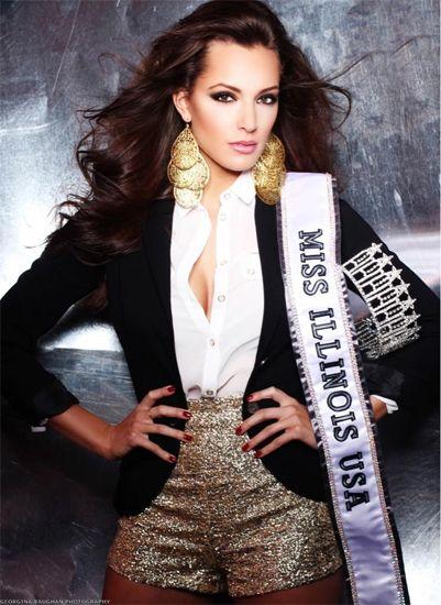 Miss Illinois USA 2013 Stacie Juris