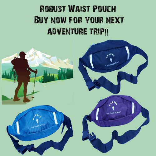 Robust waist pouch is compact design and comes with multi-purpose pockets to carry around on adventure trips. Buy - http://bit.ly/2b0ulOk