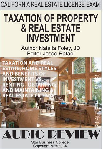 TAXATION AND REAL ESTATE