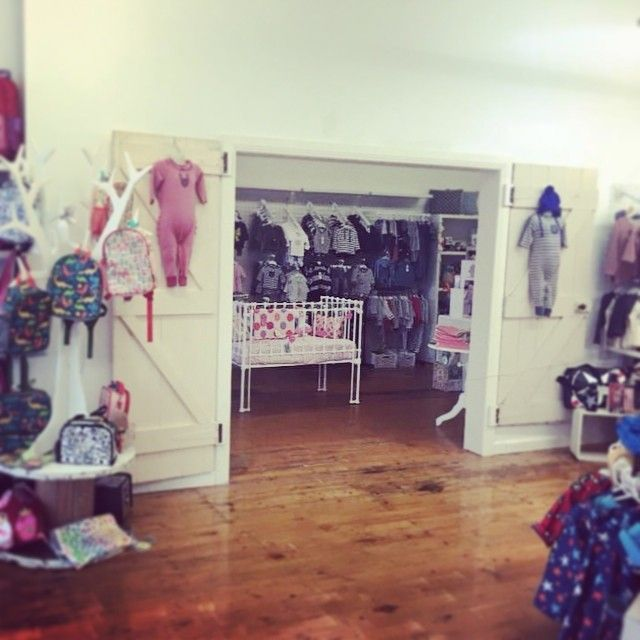 How amazing is the doorway into our little old shop- the new baby room!! How did we fit?? #shop3280 #shoplocal #warrnambool #destinationwarrnambool #kids3280 #kidsfashion #babyboutique #childrensboutique by loveleelittleones