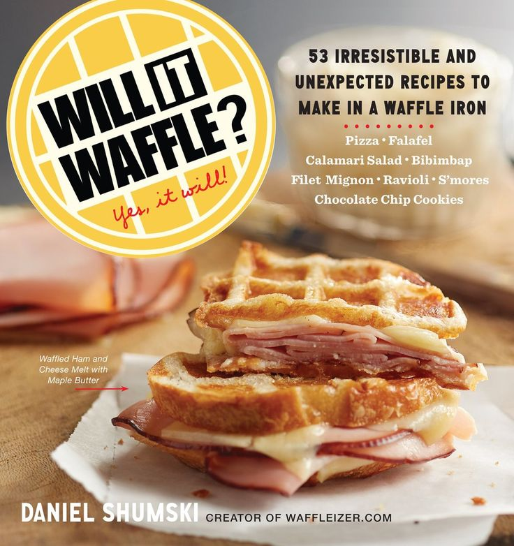 "Waffleizer was the blog that got it all started. Now, the waffling  continues in the form of ""Will It Waffle?"" a book with more than 50  fantastic non-waffle recipes for your waffle iron. (Think waffled bacon and  eggs, waffled pizza, waffled falafel, waffled s'mores aka s'moreffles, and  waffled oatmeal chocolate chip cookies.)  Pick up a copy of ""Will It Waffle?"" at your local bookstore, or find it on  Amazon, Barnes & Noble and Indiebound.  If you like this waffling stuff and think…"
