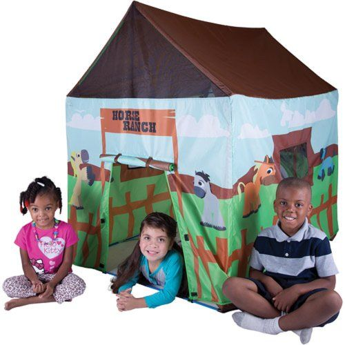Best Large Horse Farm Pretend Play House Multicoloured Tents For Kids Girls Boys Mobile Indoor Garden Camping Outdoor Portable Unisex Playhut Backyard Entertainment Centre Children Family Games Playroom Cheap Preschool Baby Tent Toys Playsets Toddler Playhouses Fun Lightweight Playground Adventure Activities Equipment Supplies For Sale Kids Tents http://www.amazon.com/dp/B00HXY0NE4/ref=cm_sw_r_pi_dp_ivEcub13H1GPS