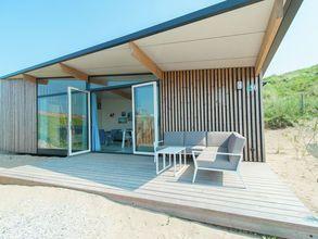 Huisdiervriendelijke Sea Lodge op gezellig vakantiepark nabij het strand van Bloemendaal
