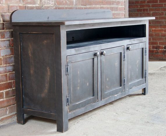 Attractive Media Console / TV Stand / Media Cabinet / Rustic By FurnitureFarm, $849.00