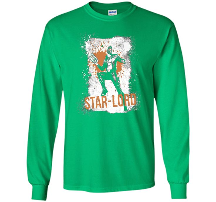 Marvel Star-Lord Guardians of the Galaxy Splatter T-Shirt