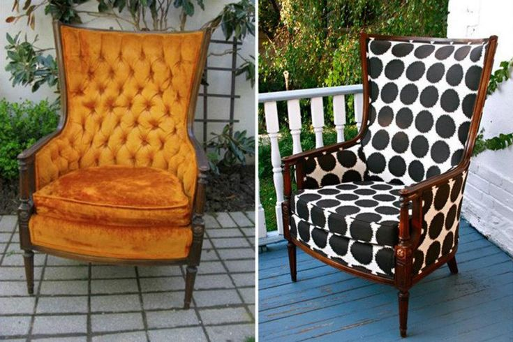 Chair Makeover Diy Before After Pinterest