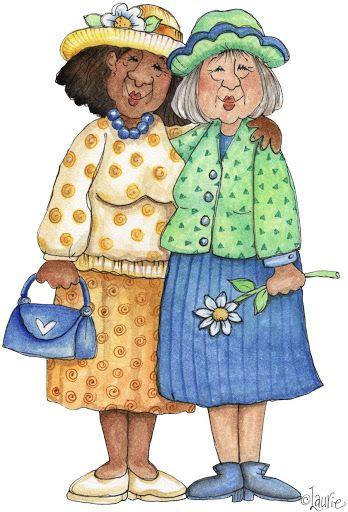 la amistad no tiene edad !!!