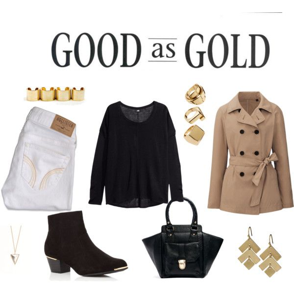 """Good as Gold"" by karyserjaneosiohx on Polyvore"