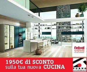 Febal Casa - promozione 1950. La tua nuova cucina con 1950€ in meno. Scopri i dettagli.