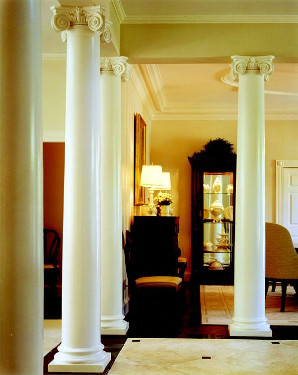 21 best images about designer showhouses chadsworth for Fiberglass interior columns