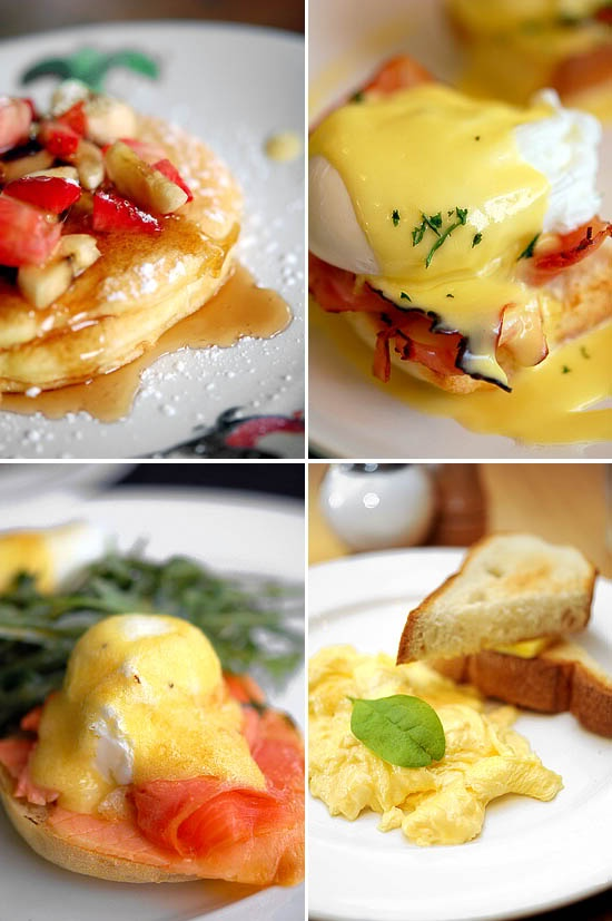 Recent passion with brunches. A collection of some of the best brunch places to go in S'pore.