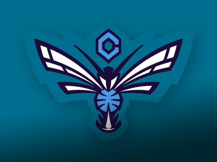 Charlotte Hornets concept Logo | Charlotte Hornets logo - Concepts - Chris Creamer's Sports Logos ...