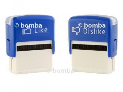 Samofarbiace pečiatky Like a Dislike sú vtipné pečiatky určené pre milovníkov Facebooku všetkých vekových kategórií. Sami si tak môžu vybrať, čo sa im páči alebo nepáči.