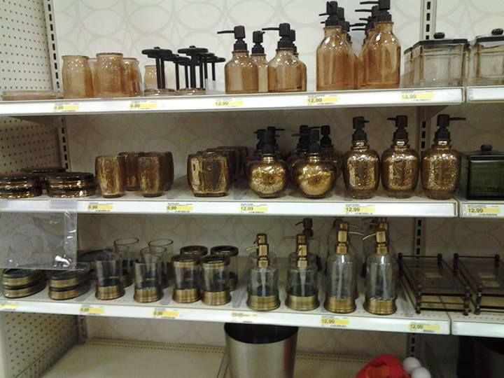 Steam ingenious friday finds steampunk bathroom decor at for Bathroom decor at target