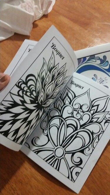 Colouring in pages by Joanna Osborne